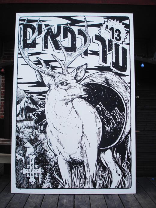 canvas_deer