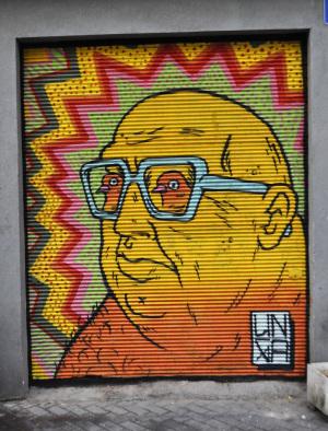 graffiti street art broken fingaz haifa israel unga tant kip deso TEL AVIV ISRAEL comics illustration