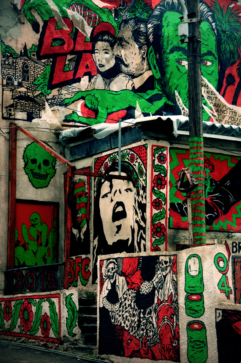 Wuadi nisnas haifa tant broken fingaz arabs jews street art