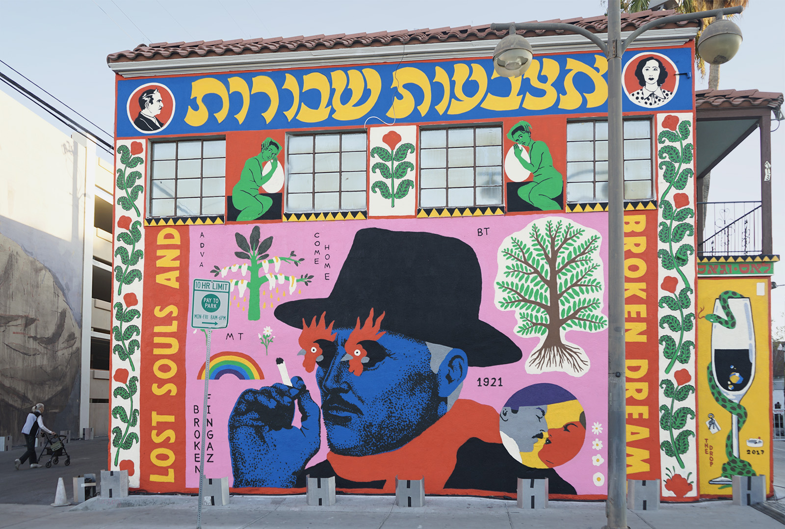 Broken Fingaz Crew Bfc Haifa Israel Street Art Graffiti Hebrew Arabic Las Vegas Usa Life Is