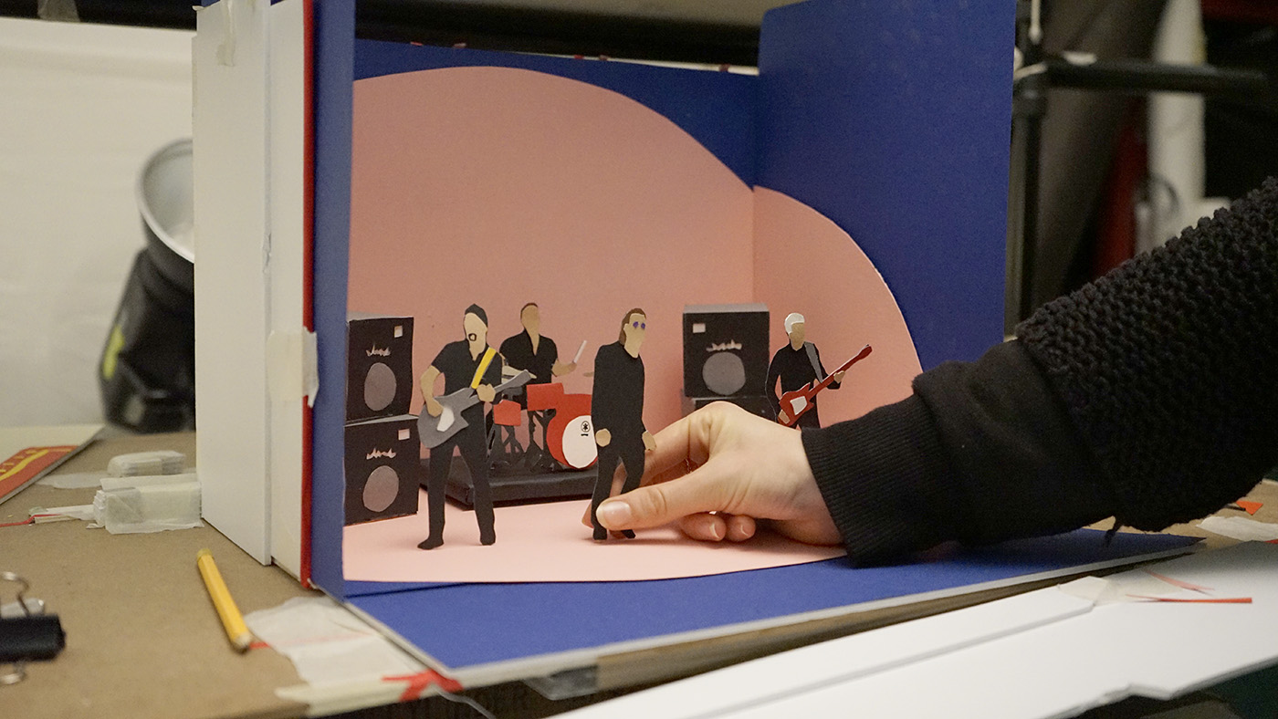 broken fingaz u2 video animation bts stop motion