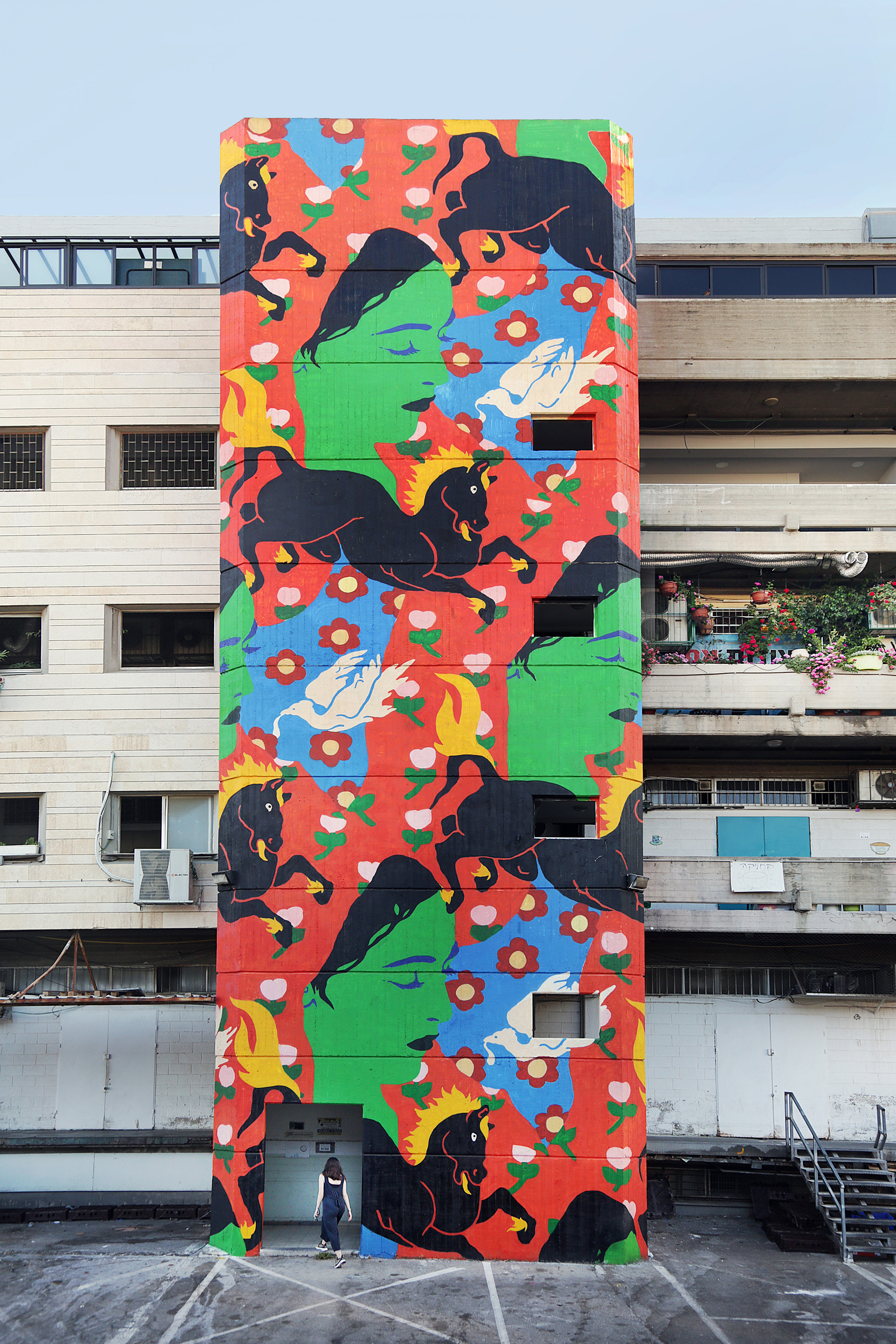 walls festival jerusalem broken fingaz israel graffiti street art tant unga deso ghostown
