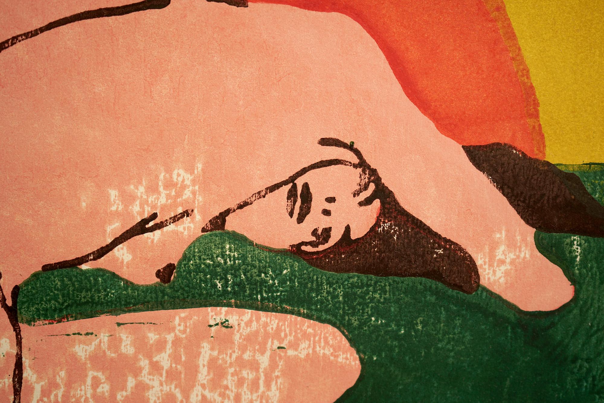 broken fingaz art painting saatchi gallery london street art graffiti unga tant deso haifa israel middle east nude